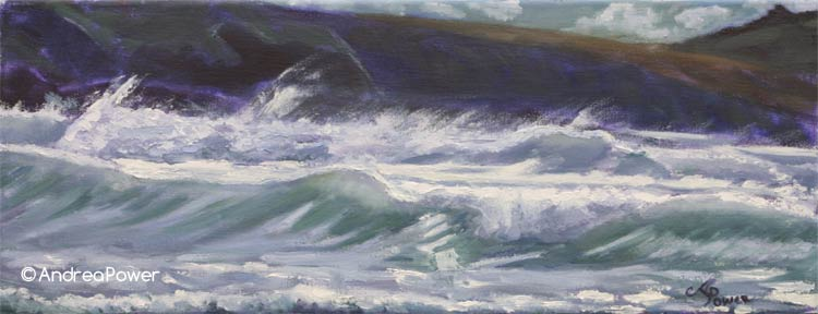 Andrea Power Dingle Artist's Wave Power on the Wild Atlantic Way